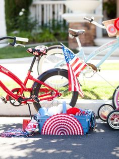 bike rodeo for the 4th // one charming party