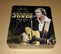 George Jones Collectors Edition 3CD Tin Box Edition NEW