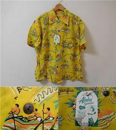 206f4090 40 Best Hawaiian Shirts!! Naturally! images | Aloha shirt, Vintage ...
