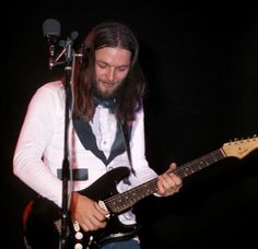 David Gilmour | Pink Floyd. Dig the outfit!