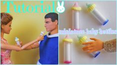 Tutorial : how to make a miniature baby bottle for dolls