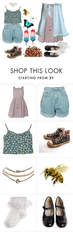 """whatshisname"" by urmypoison ❤ liked on Polyvore featuring Orla Kiely, Contempo Casuals, Converse, Wet Seal, Monsoon, vintage, child, aesthetic and frumpies"