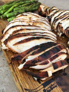 Marinated Smoked Turkey Breast