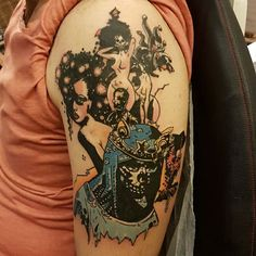 #mikemignola #mignola #lovecraftian #tattoo