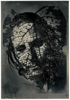Emmet Gowin :: Mask Sheet, 2004, from Edith in Panama [Pace MacGill Gallery]