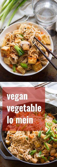 Vegan Vegetable Lo Mein