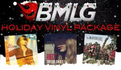 HOLIDAY SALE! Buy our BMLG Vinyl Package for only $30 while supplies last! Package features Tim McGraw, Taylor Swift and The Mavericks! http://www.bigmachinelabelgroup.com/item/holiday_bundles/vinyl-package