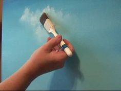 Learn How To Create Clouds The Easy Way. I will show you step by step on how to … Learn How To Create Clouds The Easy Way. I will show you step by step on how to create realistic looking Clouds with Oil Paints. Acrylic Painting Lessons, Acrylic Painting Techniques, Painting Videos, Painting Tips, Art Techniques, Painting Clouds, How To Paint Clouds, Painting Tutorials, Painting Portraits