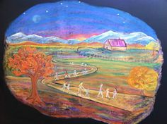 Chalkboard art by CSWS Teacher Nicole Deutsch