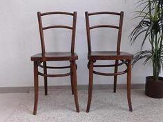 2 Luterma cafestoeltjes! Antieke houten stoel stoelen café