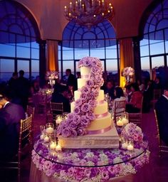 Lavender, white, and gold wedding theme <3