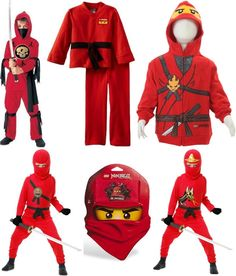 Ninjago Halloween Costumes - Ninjago Costumes Kai  sc 1 st  Pinterest : lego dress up costumes  - Germanpascual.Com