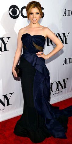 Anna Kendrick in Donna Karan Atelier.
