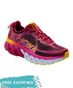 45d6d0eba9ae9 Women s Hoka One One Arahi Road Running Shoe - Virtual Pink Neon Fuchsia Running  Shoes