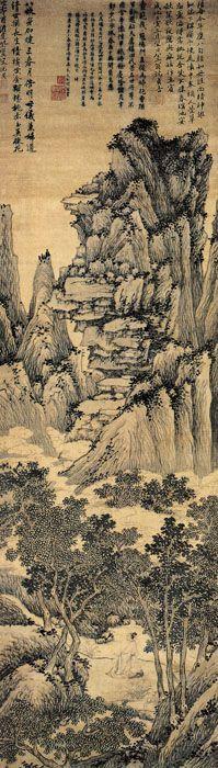Shen Zhou(沈周) ,《祝寿图》  明 沈周