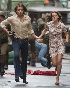 "New ""Colonia Dignidad"" still of Emma Watson and Daniel Bruhl."