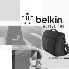 Belkin Active Pro for Macbook/Laptop up to 15.6 inch Available in Black.