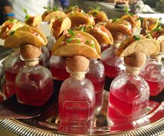 Menu Ideas for Your Wedding Reception from Wolfgang Puck Catering - Perfect Pairings from #InStyle