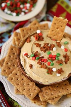 This Gingerbread Cheesecake Dip is always a party favorite for the holidays. Make it for your next holiday get together and I guarantee youll be the most popular person in the room! Plus its been shared over 322000 times on social media! Holiday Party Appetizers, Holiday Baking, Christmas Desserts, Christmas Treats, Christmas Baking, Holiday Treats, Holiday Recipes, Christmas Parties, Christmas Cookies