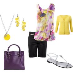 I like this look for the office (spring or summer)