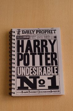 Anillado Indeseable N° 1 Diario El Profeta - Harry Potter