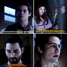 Lydia is so impressed. Teen Wolf Quotes, Teen Wolf Funny, Teen Wolf Boys, Teen Wolf Dylan, Teen Tv, Teen Wolf Cast, Teen Wolf Series Finale, Teen Wolf Final Episode, Teen Wolf Scenes