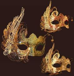 masks for masquerade | You want drama? This Cignetta mask is going to absolutely eccentric ...