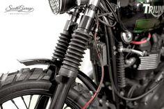 "Racing Cafè: Triumph ""Falstaff"" by South Garage Motorcycles"