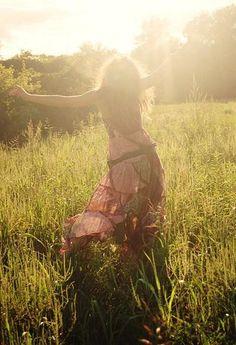 dance in the field #sun
