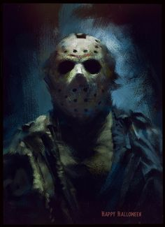Friday The 13th Poster, Jason Voorhees, Go Camping, Cool Artwork, Movie Tv, Scary, Horror, Halloween Face Makeup, Joker