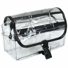 Kingsley Travel Cosmetic Bag Clear Vinyl Dopp Kit