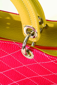Tote-handbag. Small leather goods. Luxury and fashionable.