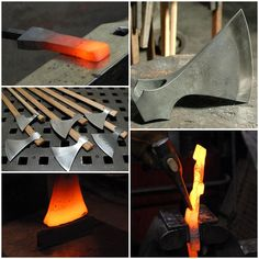 "How to Forge a Homesteading Viking Axe Homesteading  - The Homestead Survival .Com     ""Please Share This Pin"""