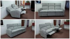 Reclining (Motion) Sofas for Small & Tight Places