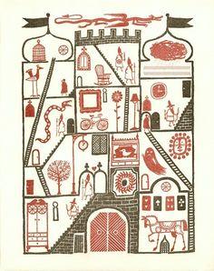 letterpress illustration by Joe McLaren