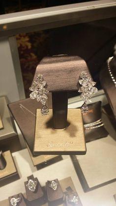 Gorgeous diamond earrings but Simon G.