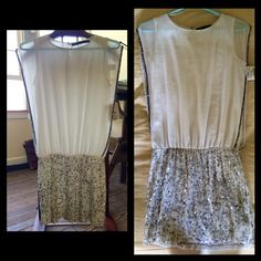 Zara Trafaluc Party Dress - Sequin Skirt - XS Never worn, new with tags. Makeup mark on front, can probably be dry cleaned. Small patch of sequins missing from front of skirt but easily fixed (includes assortment of extra sequins). Perfect party dress! Zara Skirts