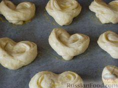 Фото приготовления рецепта: Домашние плюшки - шаг №12