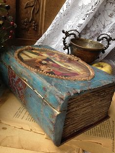 """Книга-шкатулка """" Это ОН!!!!!"""" - новый год 2013,подарок на новый год,санта клаус"""