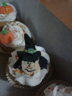 Cupcake noche de brujas