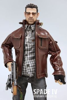 "toyhaven : DAM Toys 1/6 scale Gangsters Kingdom Spade IV ""Chad"" 12-inch Figure (Colin Farrell)"