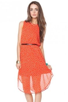 dotted dress LOVE IT