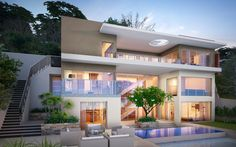 contemporary outstanding house design 3 levels