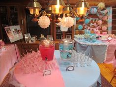 Margaret's Gender Reveal Party - Bow Ties or Tutus Theme!