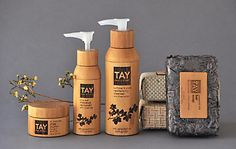 Packaging: TAY Skincare packaging line. sarah tay (creative director) #commarts
