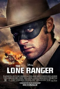 The Lone Ranger: Extra Large Movie Poster Image - Internet Movie Poster Awards Gallery Armie Hammer, Alfred Hitchcock, Coming Soon To Theaters, Image Internet, Native American Warrior, Johnny Depp Movies, The Lone Ranger, Superhero Movies, Movie Photo