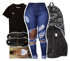 My freshman outfit 🎈 by pinksemia on Polyvore featuring polyvore fashion style A BATHING APE Retrò clothing