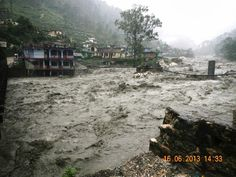 Uttarakhand floods Posted by floodlist.com