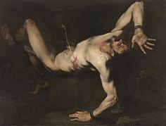 Tityos (1632, Museo Nacional del Prado, Madrid) de José de Ribera