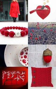 Let's paint the world in red by Anna Bujak on Etsy--Pinned with TreasuryPin.com
